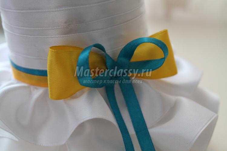 одежда для шампанского. Жених и невеста в украинском стиле