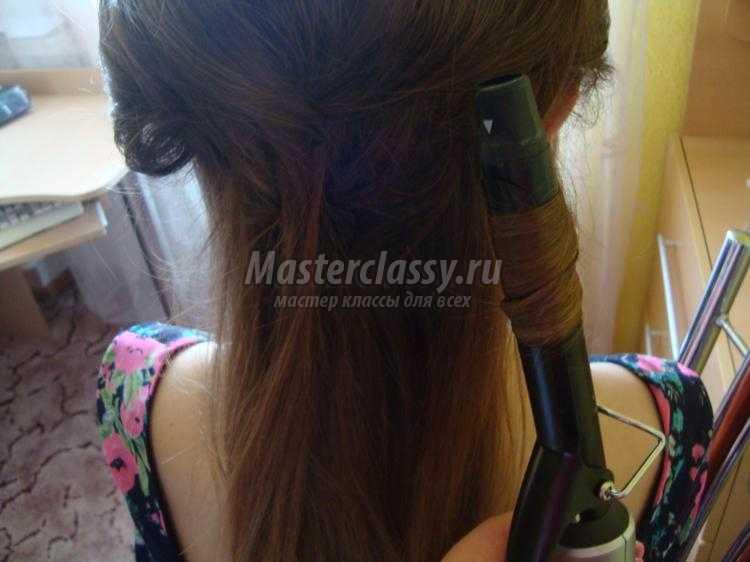прическа на выпускной на длинные волосы