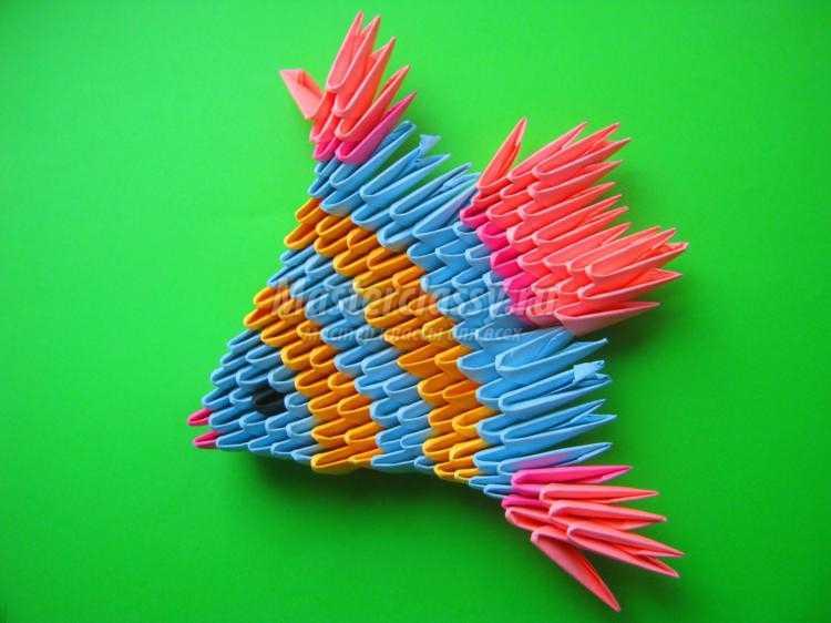 1435932322_1_750x562 Модульное оригами рыбка схема - Оригамир