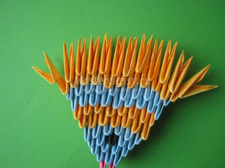 модульное оригами. Рыбка