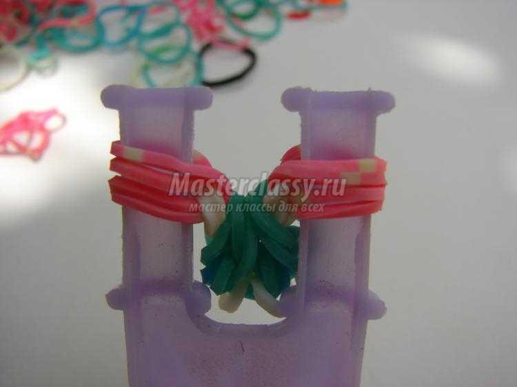 браслет из резинок на рогатке. Майами