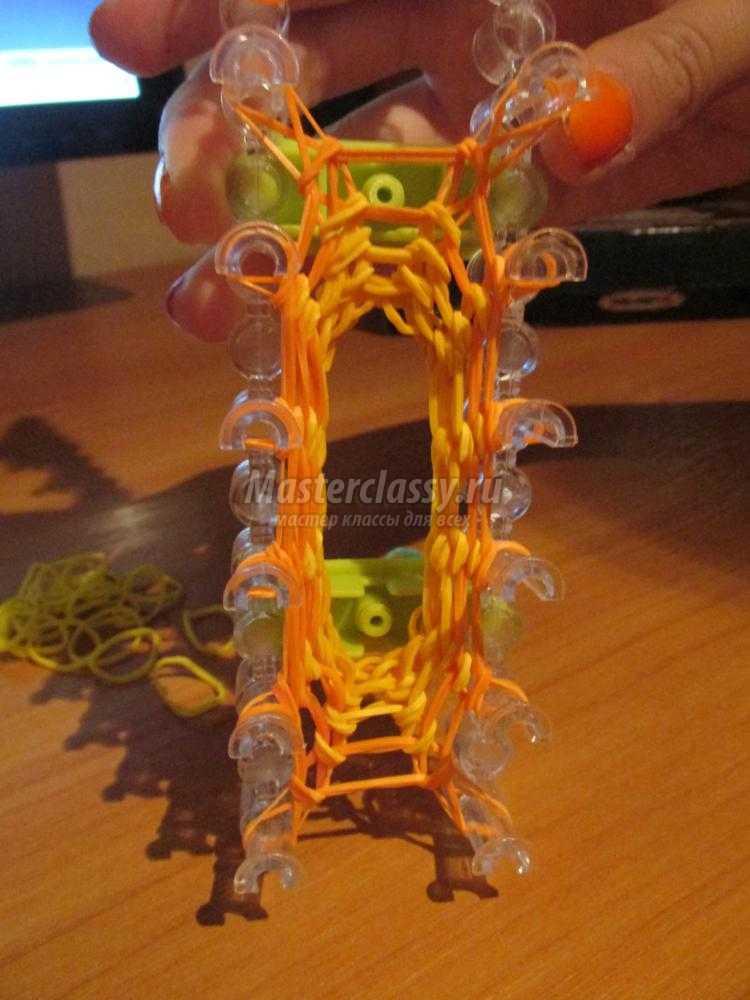тыковка из резинок на Хэллоуин