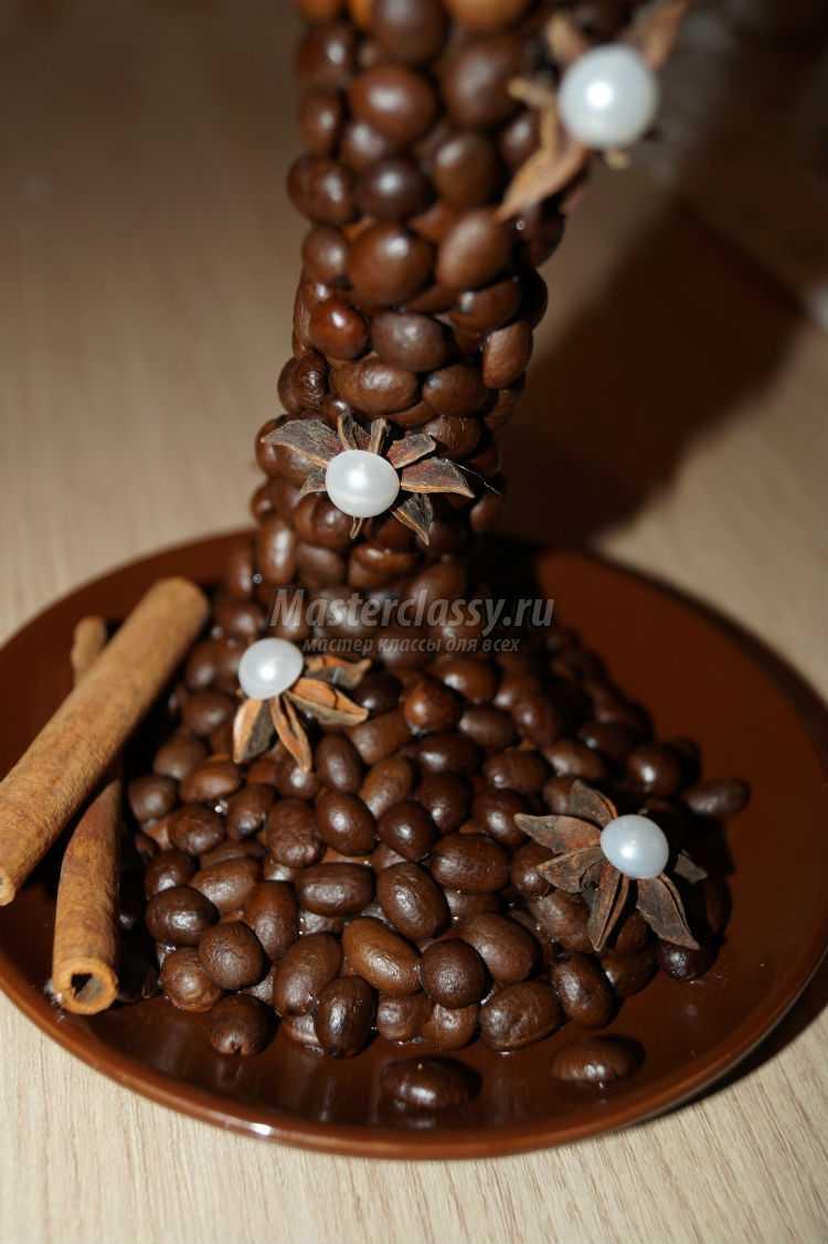 парящая кофейная чашка своими руками
