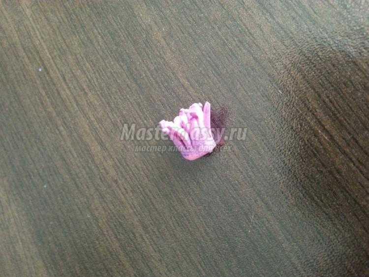 фантазийная лилия из фоамирана