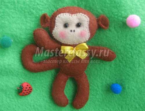Как сделать игрушку обезьянку фото 147