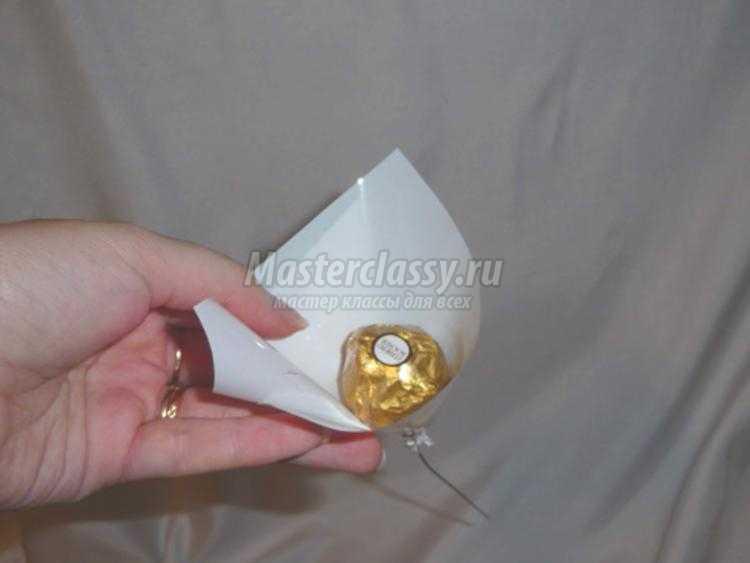 букет из конфет. Нежнее нежного