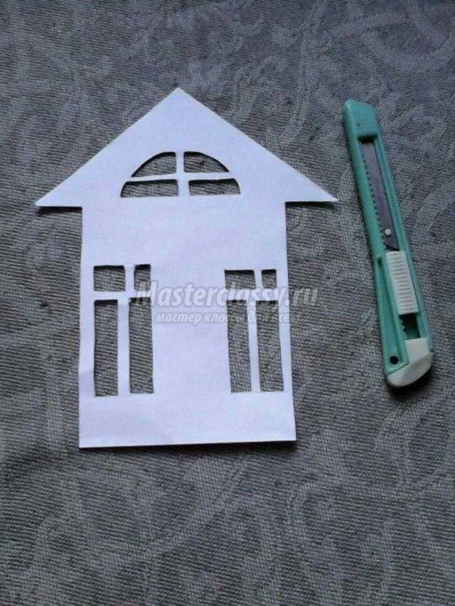поделки из бумаги в технике вытынанка