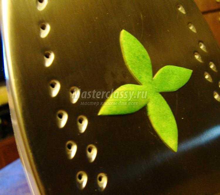 яблоневая веточка из фоамирана