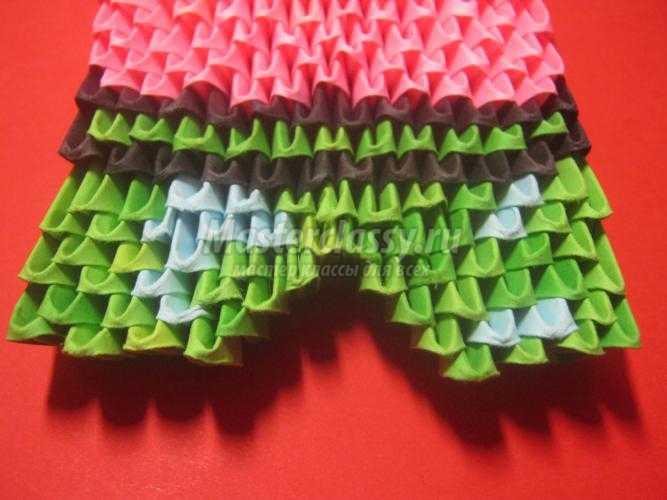 модульное оригами. Патрик