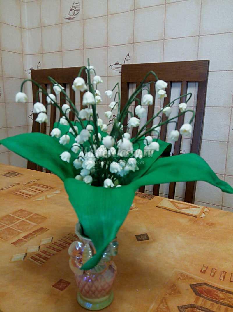 как сделать цветок из фоамирана инструкция