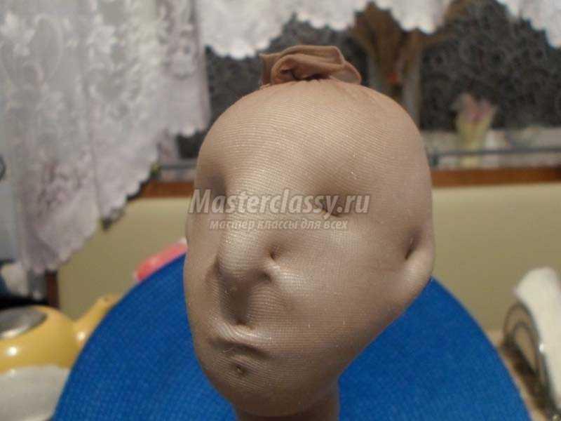 как сделать текстильную куклу
