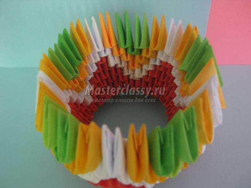 1440568861_5 Модульное оригами павлин мастер-класс — HandMade
