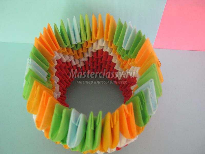 1440568885_6 Модульное оригами павлин мастер-класс — HandMade