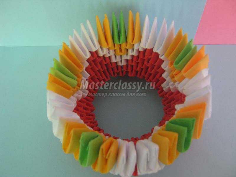 1440568895_4 Модульное оригами павлин мастер-класс — HandMade