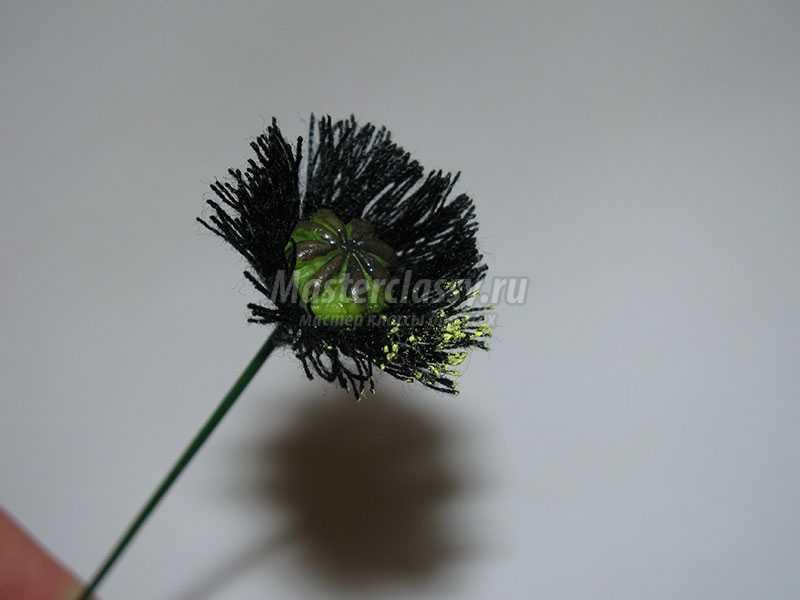 как сделать цветы из холоднго фарфора