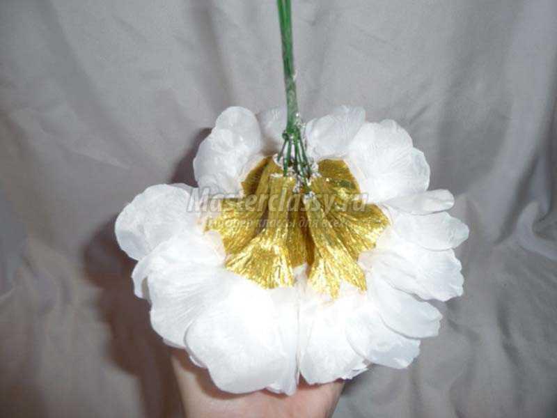 букет из конфет пошаговое фото