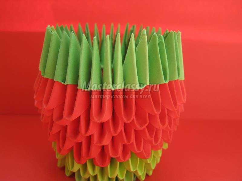 как сделать оригами лягушку