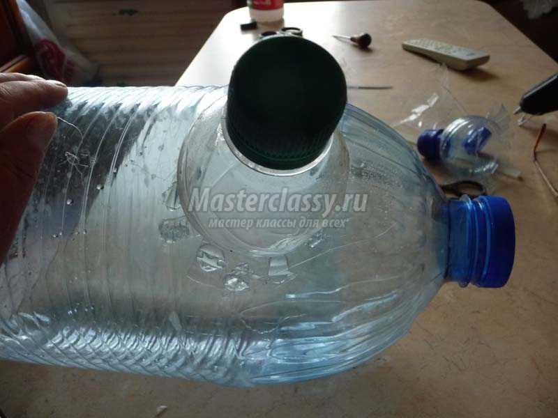 поросенок из пластиковых бутылок своими руками