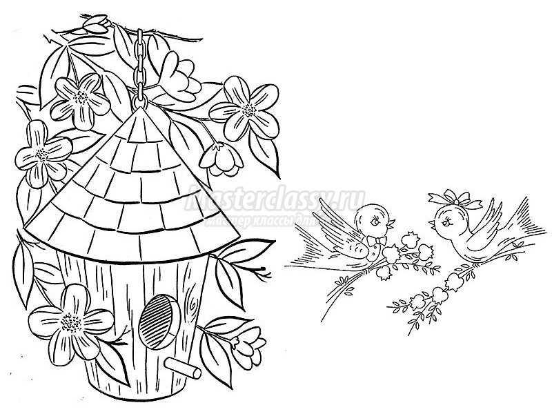 как украсить дачный домик