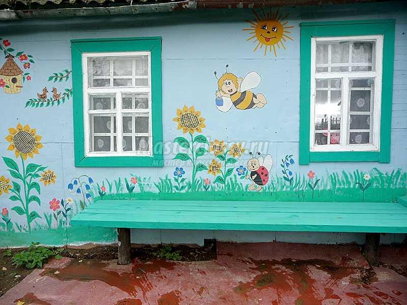 как украсить дачный домик внутри