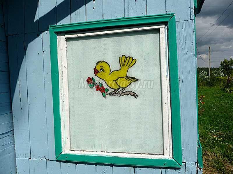 украсить дачный домик фото