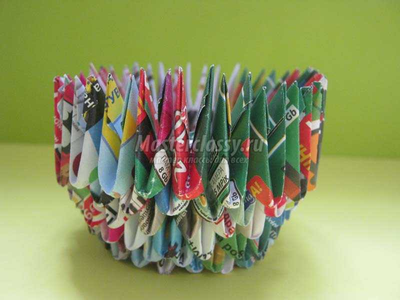 кружки оригами