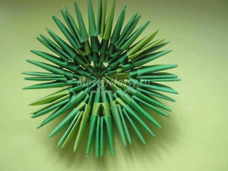 кактус из модулей