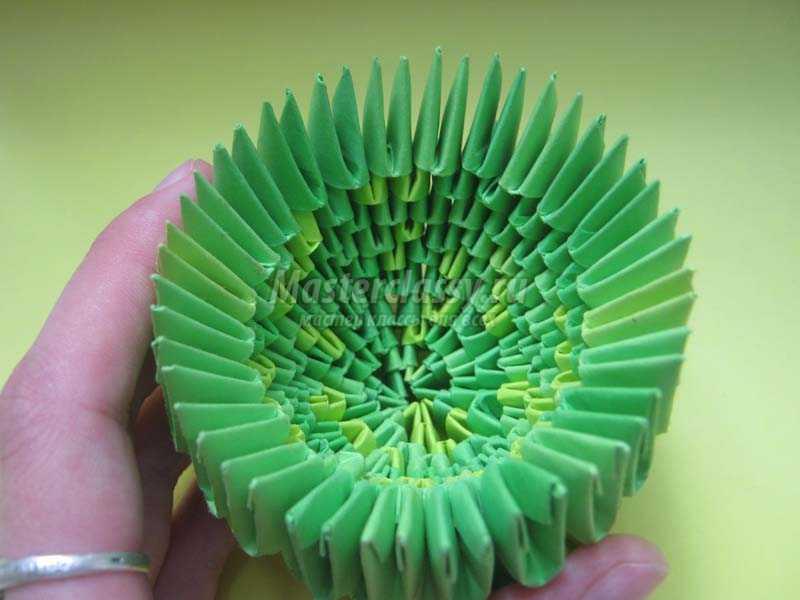 как сделать кактус из бумаги