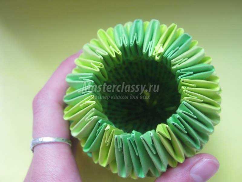кактус из бумаги своими руками
