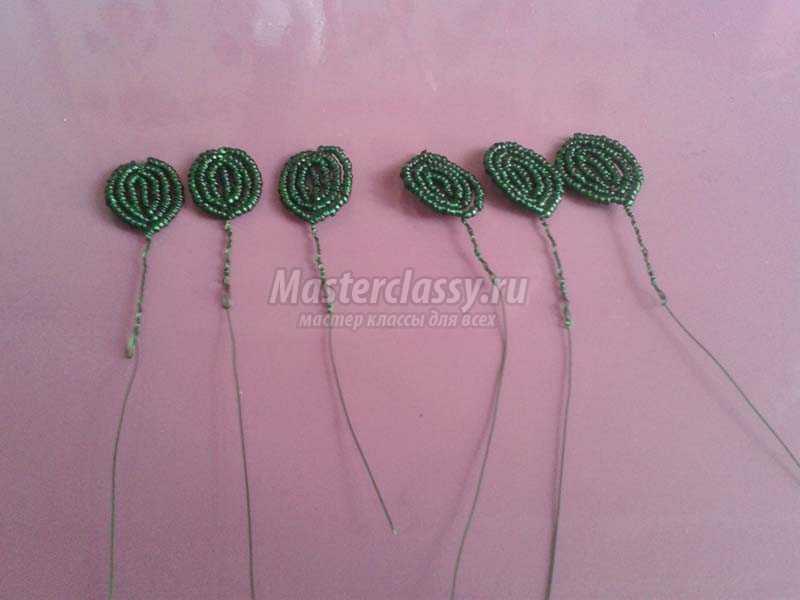 плетение из бисера цветы