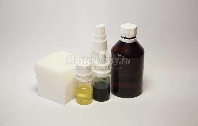 рецепт домашнего мыла