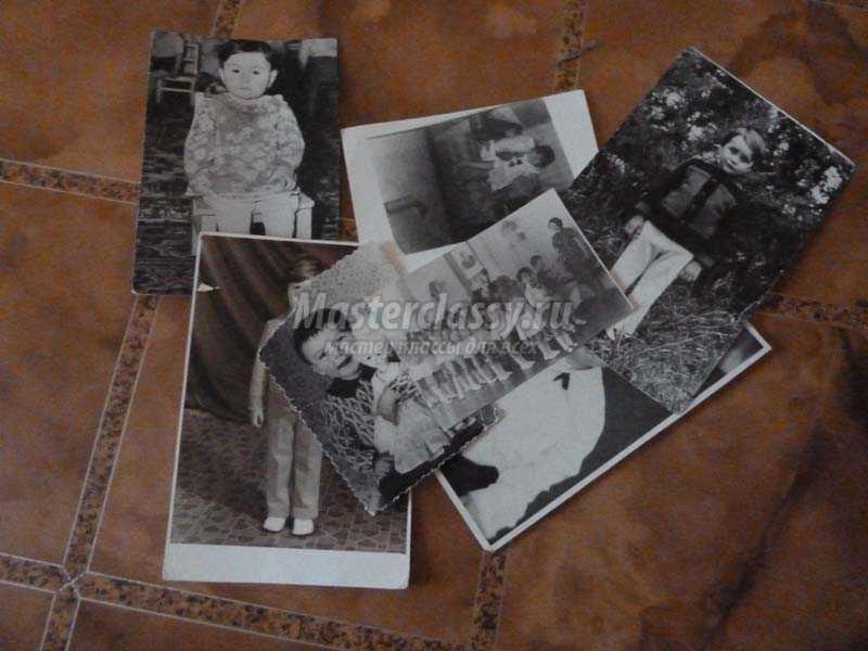 детский фотоколлаж