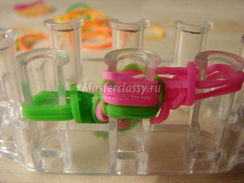 браслеты из резинок фото