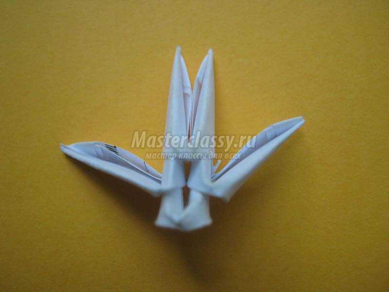 оригами снежинка