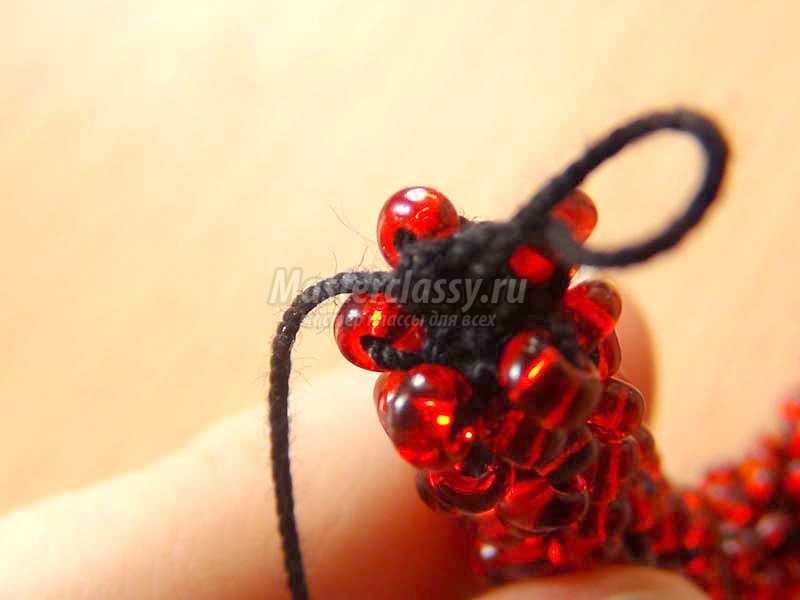 плетение бисером браслеты жгутом