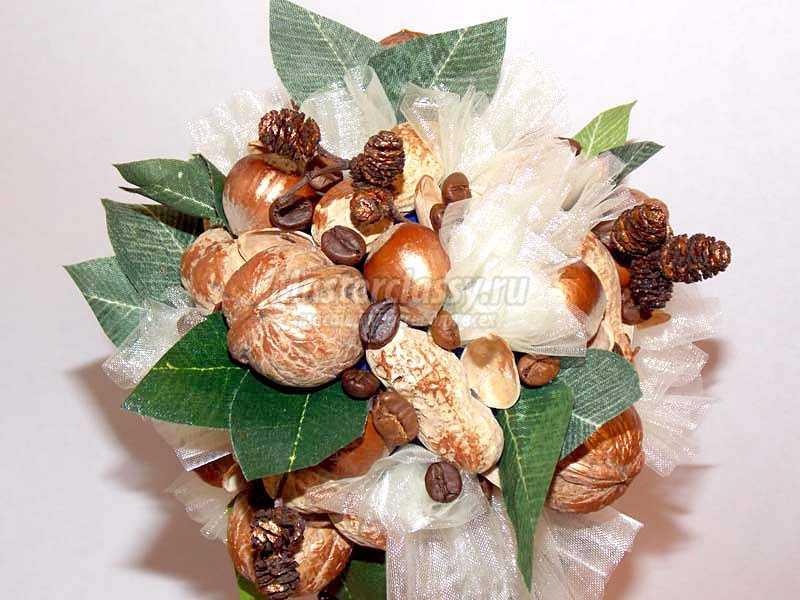 топиарий из орехов мастер класс