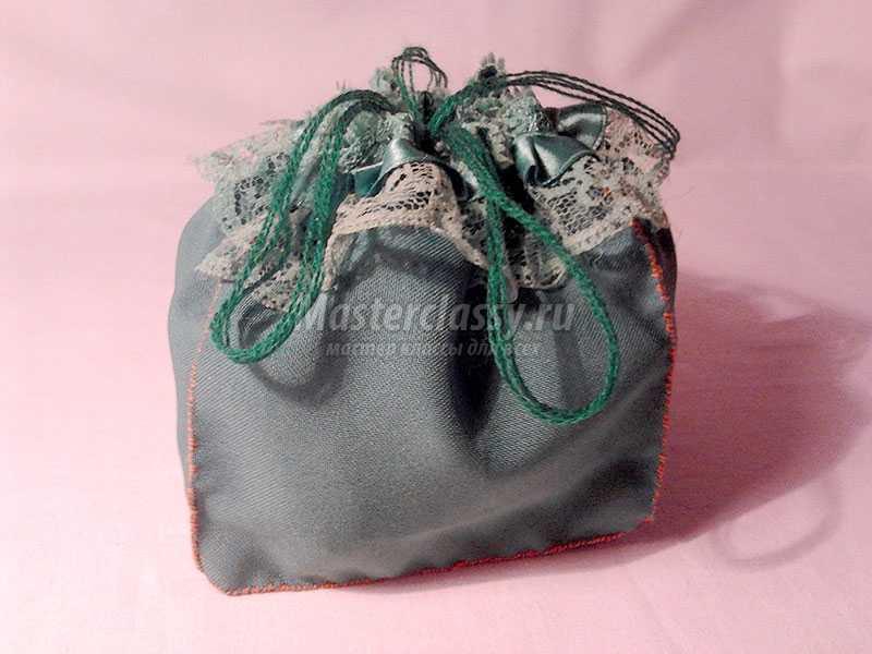 как сделать мешочек из ткани