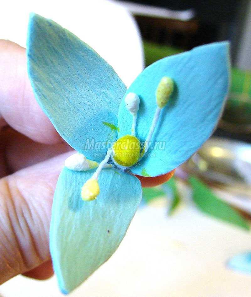 цветы из фоамирана мастер класс видео