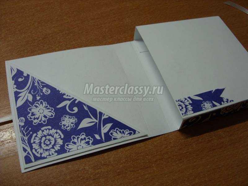 шоколадница из бумаги своими руками