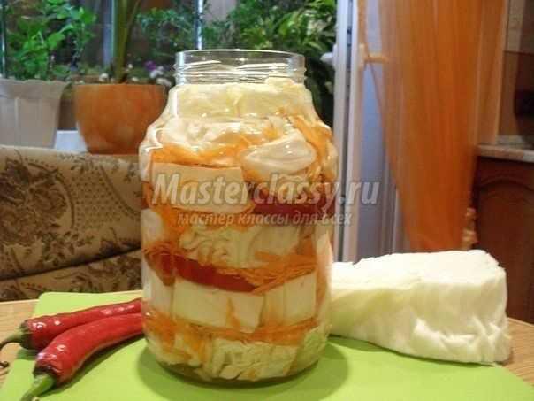 Капуста маринованная на зиму: золотые рецепты с фото