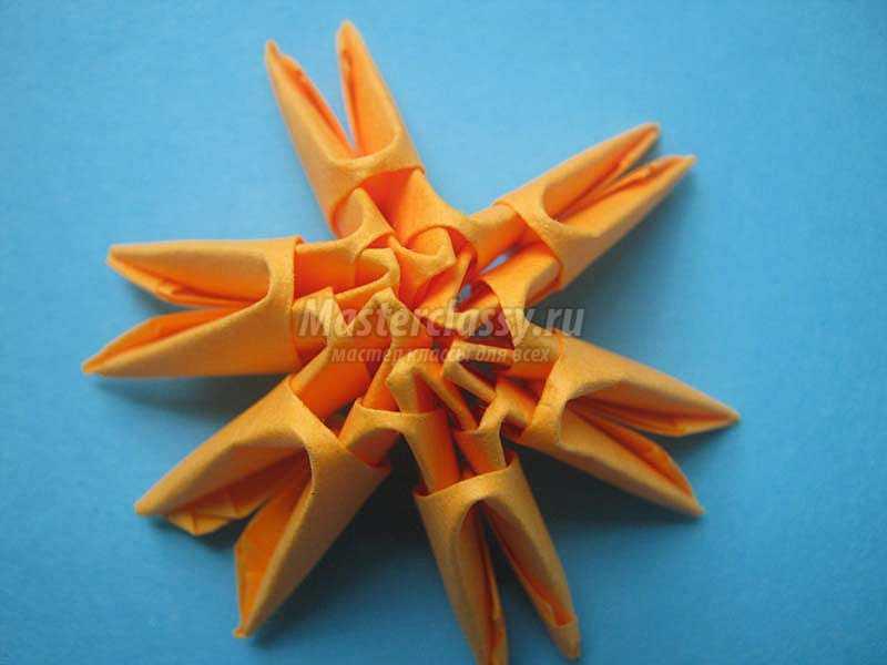 оригами рамка для фото
