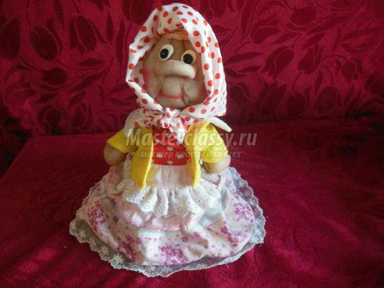 кукла из капрона своими руками