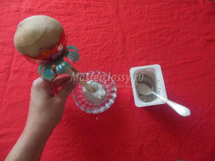 топиарий из макарон своими руками