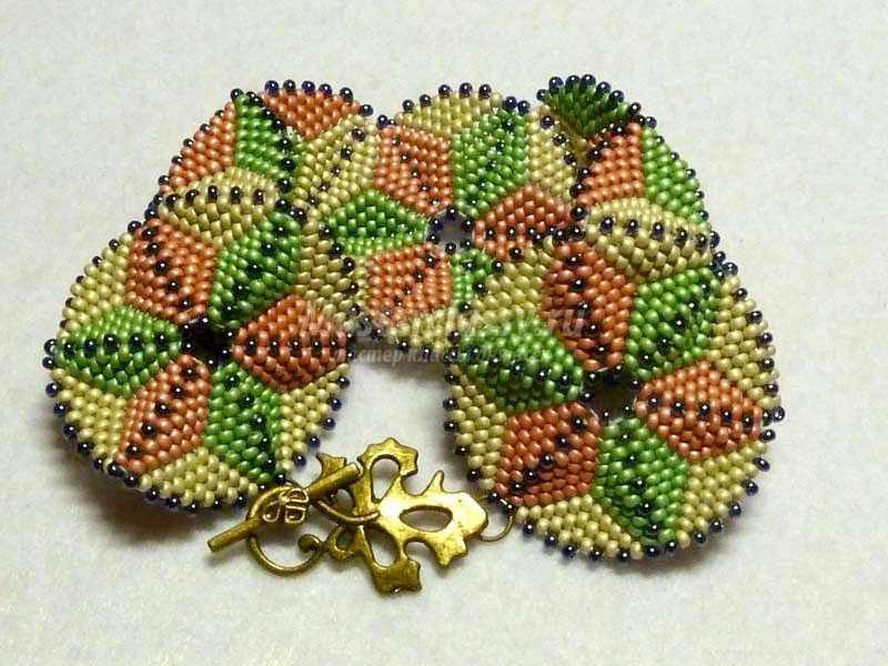 браслеты из бисера своими руками
