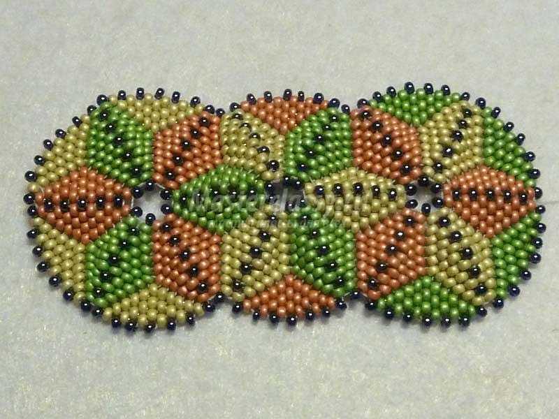 браслеты из бисера для начинающих