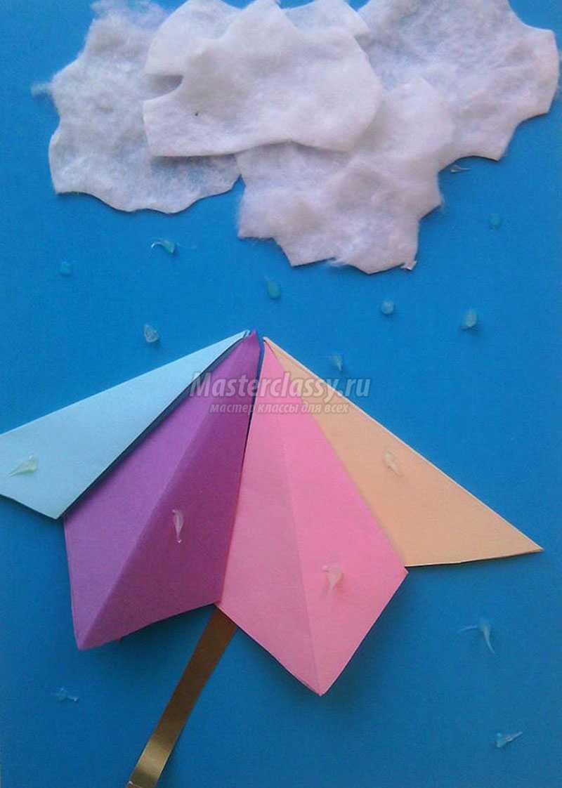 Объемный зонтик своими руками фото 600