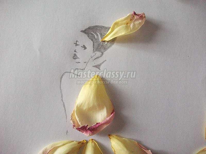 Маме, открытка из лепестков роз живых своими руками на день учителя