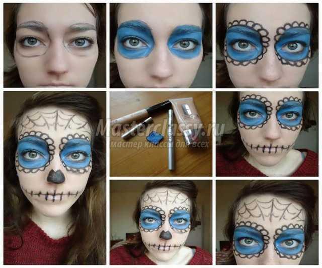 Хэллоуин грим