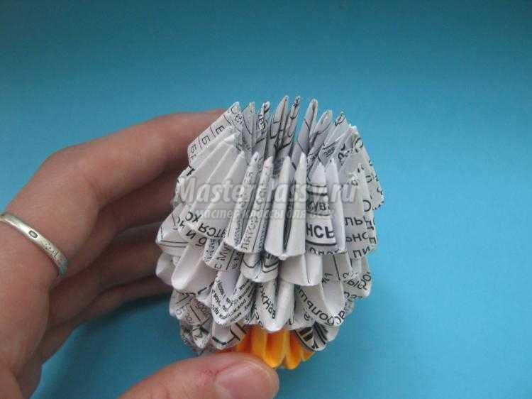 модульное оригами. Мышка