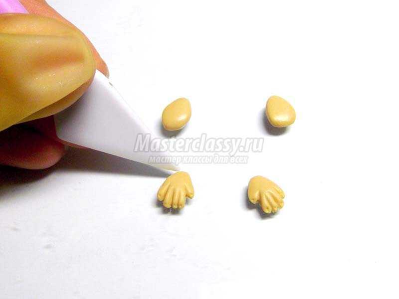 изготовление обезьянки карандашницы
